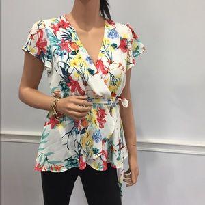 June & Hudson flower blouse